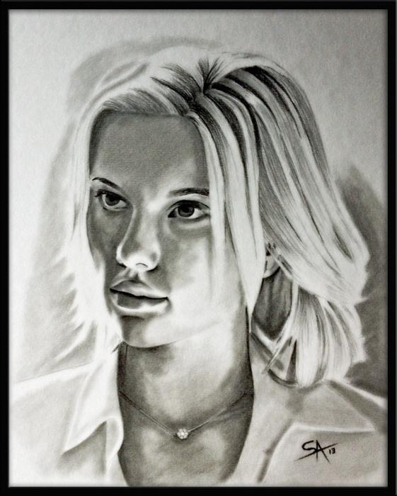 Scarlett Johansson por DarkSnake